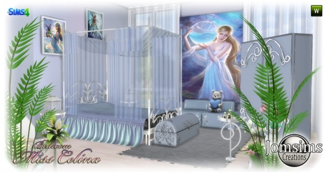 Miss celina teen bedroom at Jomsims Creations image 2862 670x355 Sims 4 Updates