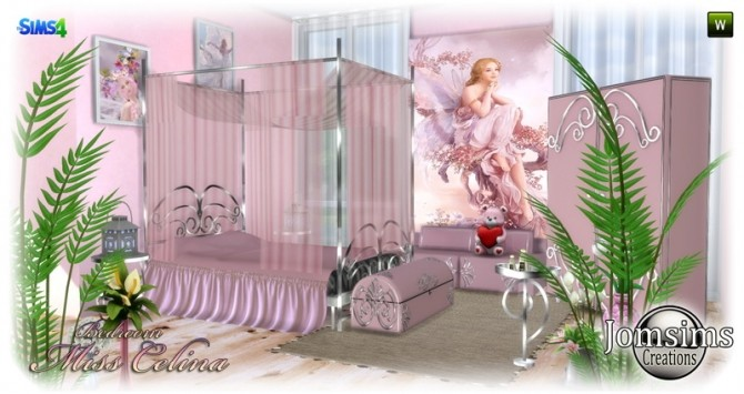 Miss celina teen bedroom at Jomsims Creations image 2872 670x355 Sims 4 Updates