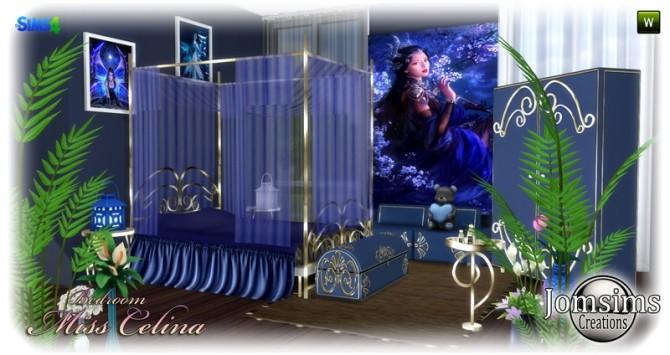 Miss celina teen bedroom at Jomsims Creations image 2892 670x355 Sims 4 Updates