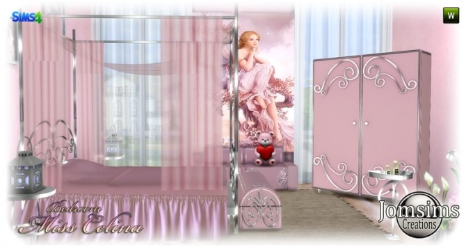 Miss celina teen bedroom at Jomsims Creations image 29110 670x355 Sims 4 Updates
