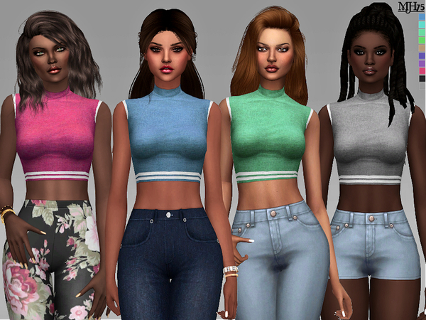 S4 Legion Of Sport Tops by Margeh 75 at TSR image 2915 Sims 4 Updates