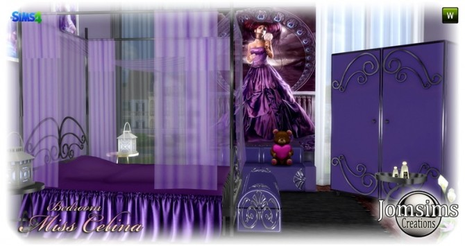 Miss celina teen bedroom at Jomsims Creations image 29210 670x355 Sims 4 Updates