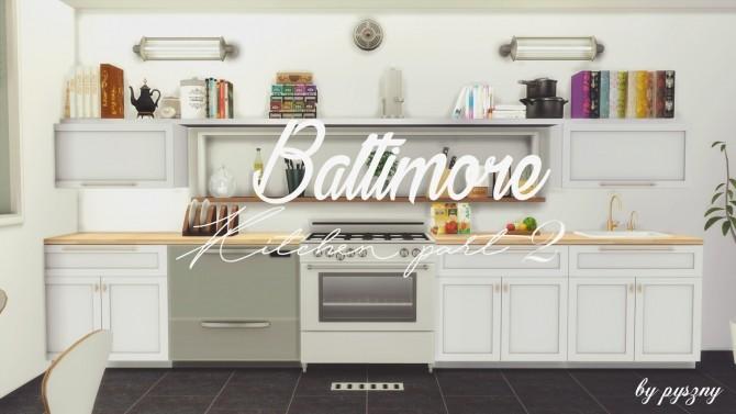 Sims 4 Baltimore Kitchen Part 2 at Pyszny Design