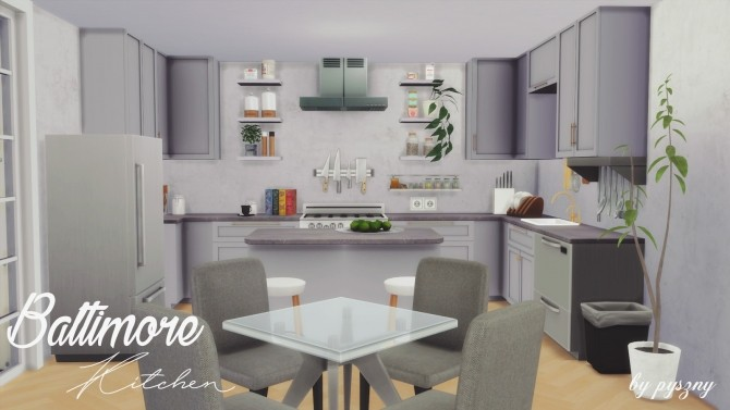 Baltimore Kitchen Part 2 at Pyszny Design image 296 670x377 Sims 4 Updates