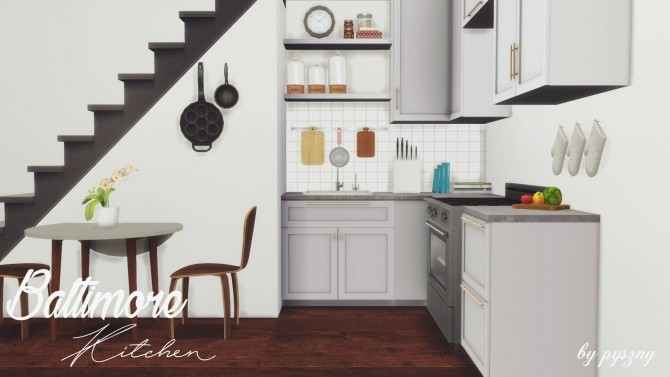 Baltimore Kitchen Part 2 at Pyszny Design image 297 670x377 Sims 4 Updates