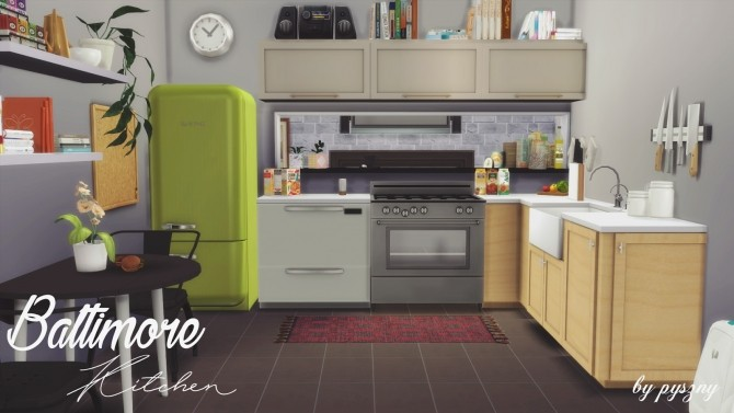 Baltimore Kitchen Part 2 at Pyszny Design image 298 670x377 Sims 4 Updates