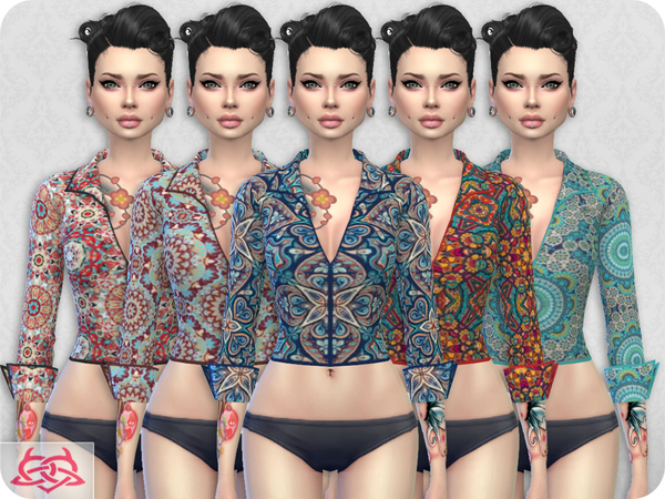 Set Blouse / Skirt RECOLOR 3 by Colores Urbanos at TSR image 30 Sims 4 Updates