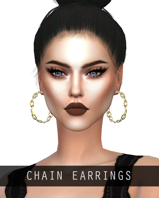 Chain earrings and belt at Arthurlumierecc – AL image 3081 Sims 4 Updates