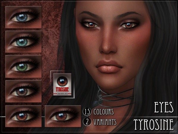 Tyrosine Eyes by RemusSirion at TSR image 3109 Sims 4 Updates