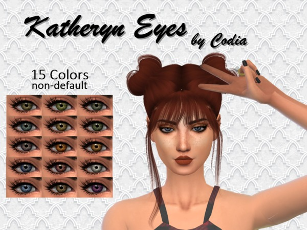 Katheryn Eyes by Codia at TSR image 3114 Sims 4 Updates