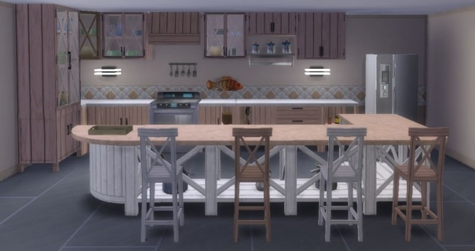 Kitchen Inspiration Navy by Maman Gateau at Sims Artists image 328 670x354 Sims 4 Updates