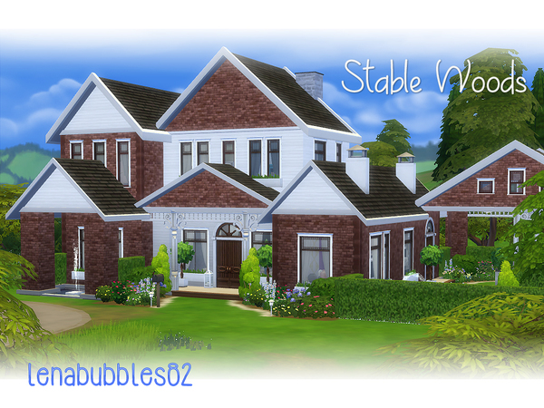 Stable Woods house by lenabubbles82 at TSR image 331 Sims 4 Updates