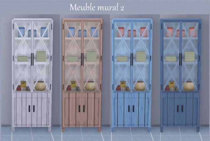 Kitchen Inspiration Navy by Maman Gateau at Sims Artists image 341 670x452 Sims 4 Updates