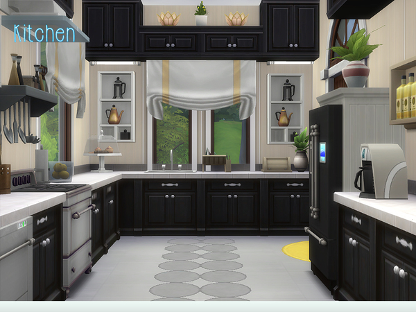 Stable Woods house by lenabubbles82 at TSR image 3410 Sims 4 Updates