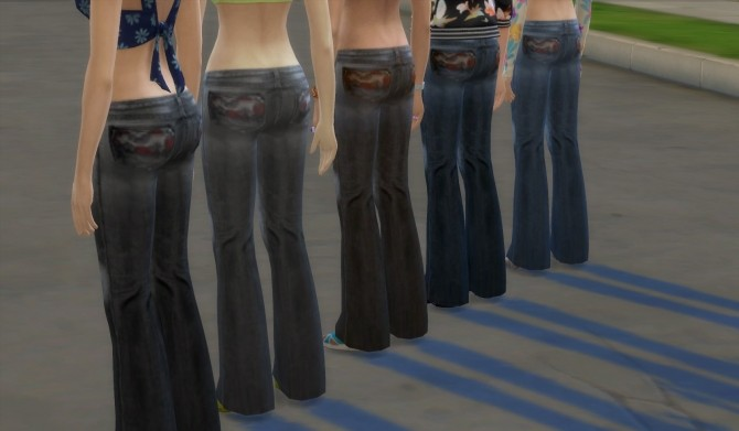 Sims 4 Jeans by sanve at Mod The Sims