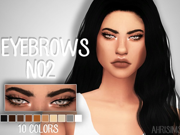Eyebrows N02 by AhriSims at TSR image 355 Sims 4 Updates