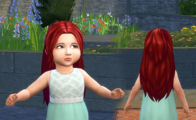 Indecision Hairstyle for Toddlers at My Stuff image 356 670x410 Sims 4 Updates