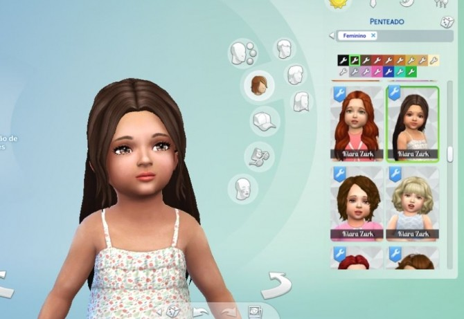 Indecision Hairstyle for Toddlers at My Stuff image 357 670x461 Sims 4 Updates