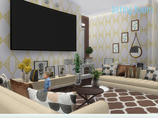 Stable Woods house by lenabubbles82 at TSR image 3610 Sims 4 Updates