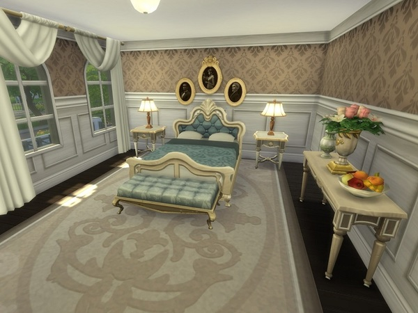 French Mansion by galadrijella at TSR image 3615 Sims 4 Updates
