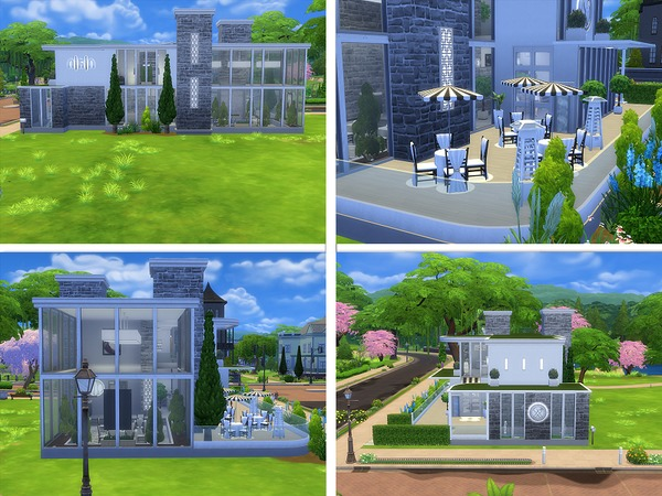 Unwind Dining restaurant by lenabubbles82 at TSR image 3617 Sims 4 Updates
