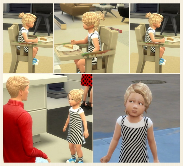 Messie Curl Ponytail Toddler at Birksches Sims Blog image 368 Sims 4 Updates