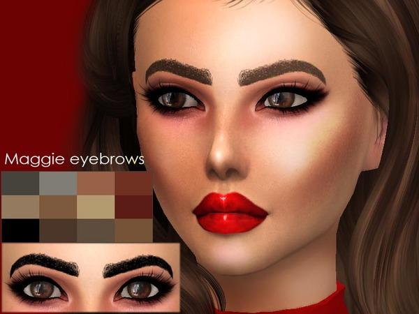 Maggie eyebrows by Sharareh at TSR image 3717 Sims 4 Updates