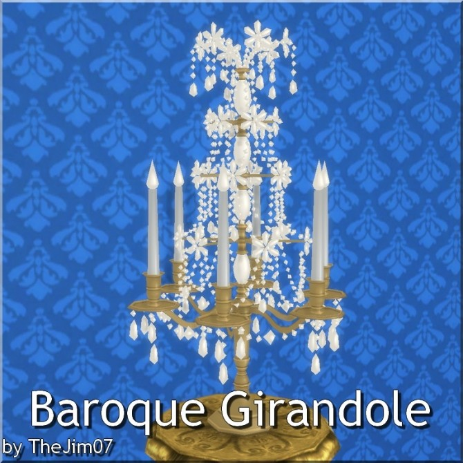 Baroque Girandole by TheJim07 at Mod The Sims image 3722 670x670 Sims 4 Updates