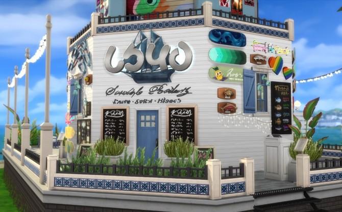 Taverna Akrotiri by Alrunia at Mod The Sims image 3815 670x415 Sims 4 Updates