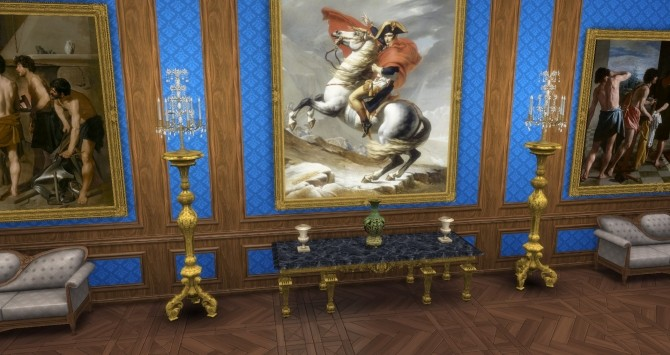 Baroque Girandole by TheJim07 at Mod The Sims image 3820 670x355 Sims 4 Updates