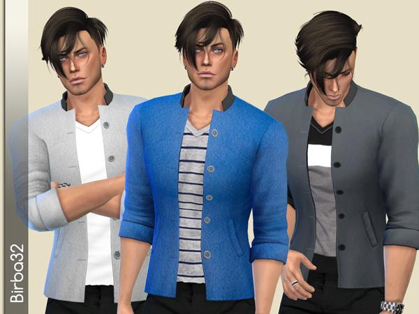 Patrick Jacket by Birba32 at TSR image 3915 Sims 4 Updates