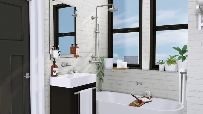Sveta bathroom at mxims sims 4 updates for Bathroom ideas sims 4