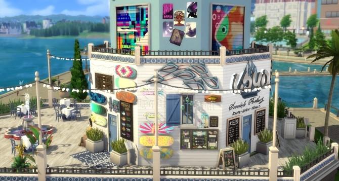 Taverna Akrotiri by Alrunia at Mod The Sims image 4016 670x357 Sims 4 Updates