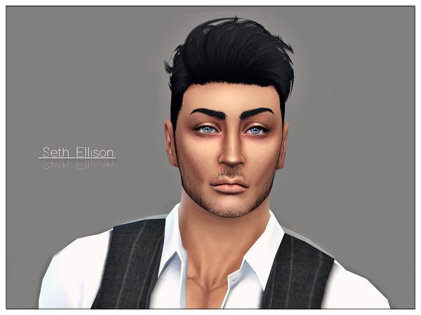 Sims 4 Seth Ellison by Torque at TSR