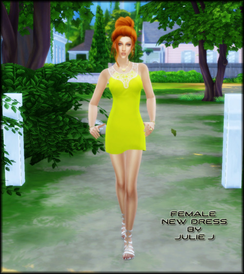 New Female Dress at Julietoon – Julie J image 411 Sims 4 Updates