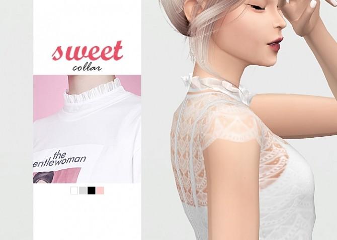Sweet Collar at Waekey image 416 670x479 Sims 4 Updates