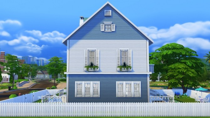 Sims 4 Elder`s Paradise house by Brinessa at Mod The Sims