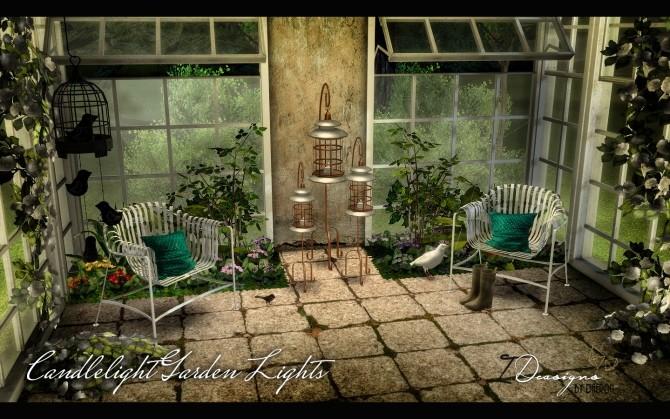 Sims 4 lighting downloads sims 4 updates for Garden design sims 4