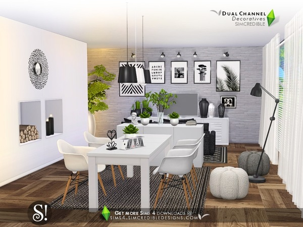 Dual channel decoratives by SIMcredible at TSR image 4426 Sims 4 Updates