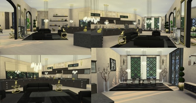 Sims 4 Lanlyn house by MrDemeulemeester at Mod The Sims
