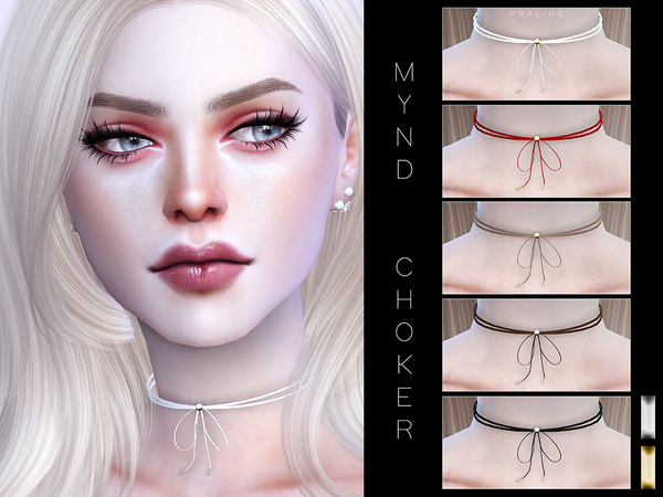 Mynd Choker by Pralinesims at TSR image 4513 Sims 4 Updates