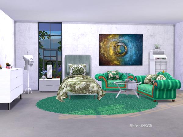 Single Bedroom Dreams by ShinoKCR at TSR image 452 Sims 4 Updates