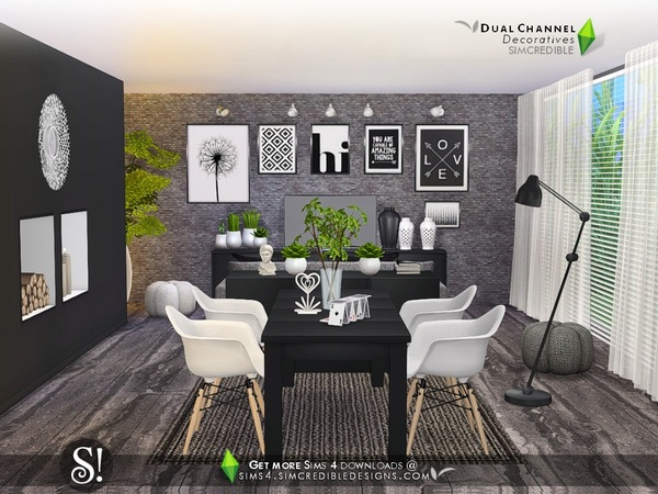 Dual channel decoratives by SIMcredible at TSR image 4522 Sims 4 Updates