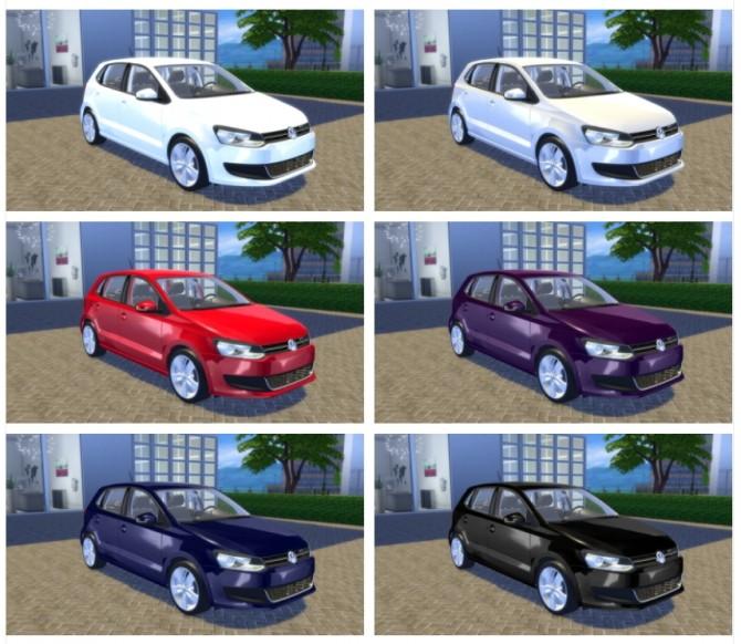 VW Polo Highline TSI 2010 (6R) at OceanRAZR image 457 670x582 Sims 4 Updates