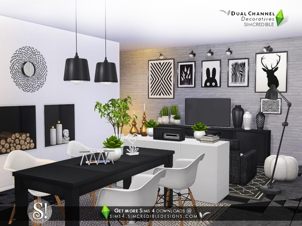Dual channel decoratives by SIMcredible at TSR image 4619 Sims 4 Updates
