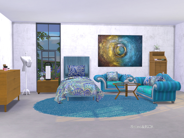 Single Bedroom Dreams by ShinoKCR at TSR image 462 Sims 4 Updates