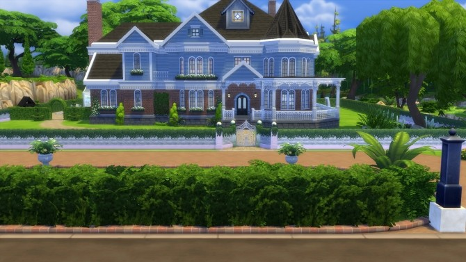 The Willows house by Asmodeuseswife at Mod The Sims image 463 670x377 Sims 4 Updates