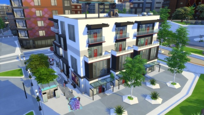 Building nr 1 by Arthur at Les Sims4 image 487 670x377 Sims 4 Updates