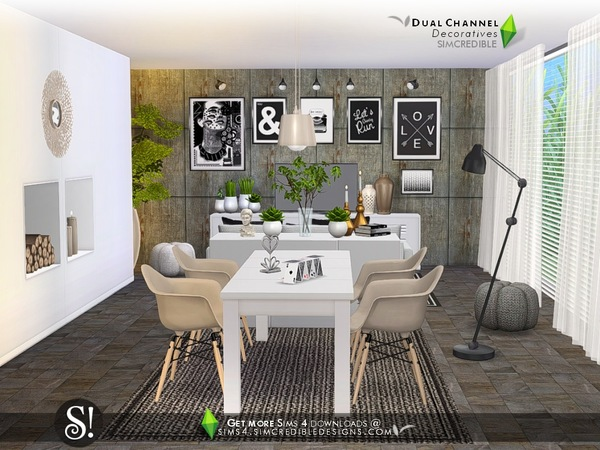 Dual channel decoratives by SIMcredible at TSR image 4918 Sims 4 Updates