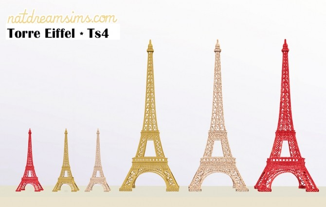 Eiffel Tower At Nat Dream Sims 187 Sims 4 Updates